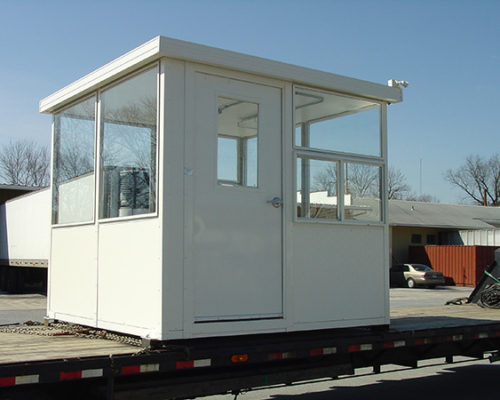 Aluminum Guardhouses for Security Guards