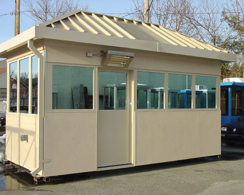 STEEL EFIS FINISHED BULLET RESISTIVE 8 X 16 GUARDHOUSE 1