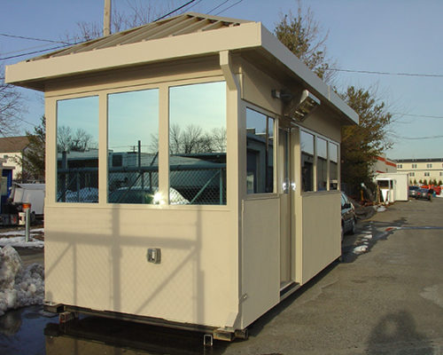 STEEL EFIS FINISHED BULLET RESISTIVE 8 X 16 GUARDHOUSE 2