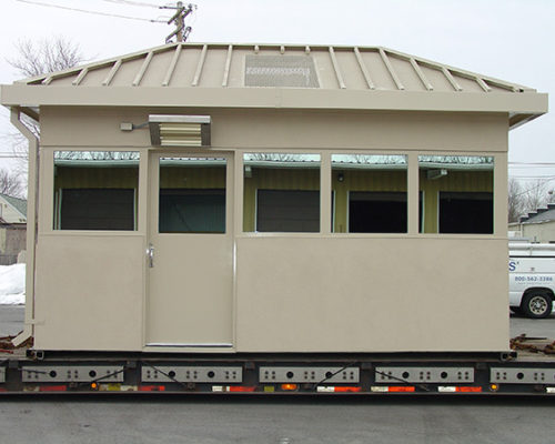 STEEL EFIS FINISHED BULLET RESISTIVE 8 X 16 GUARDHOUSE 6