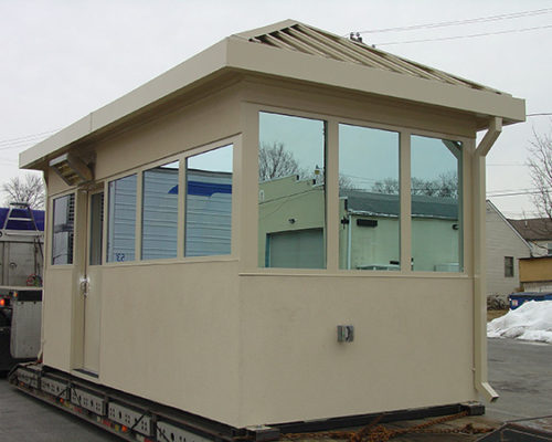 STEEL EFIS FINISHED BULLET RESISTIVE 8 X 16 GUARDHOUSE 7