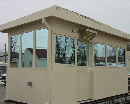 STEEL EFIS FINISHED BULLET RESISTIVE 8 X 16 GUARDHOUSE 8