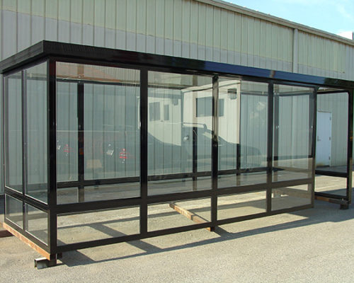 Steel Bus Shelters : Shelters