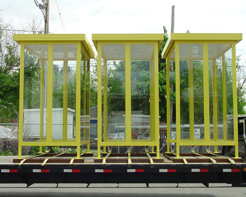 Steel Transit Shelter Bus